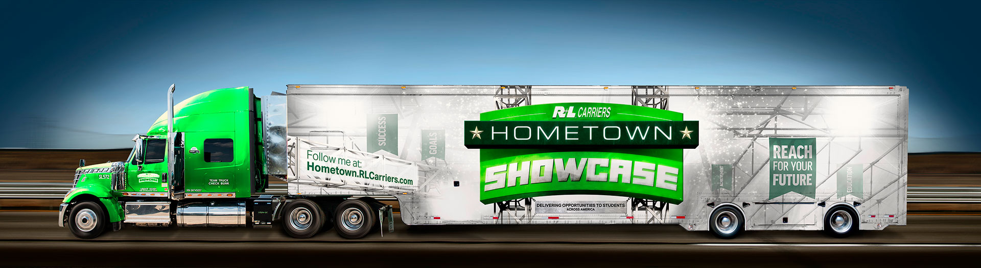 R+L Carriers, Hometown Showcase Hauler