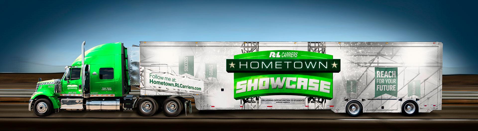 R+L Carriers, Hometown Showcase Hauler