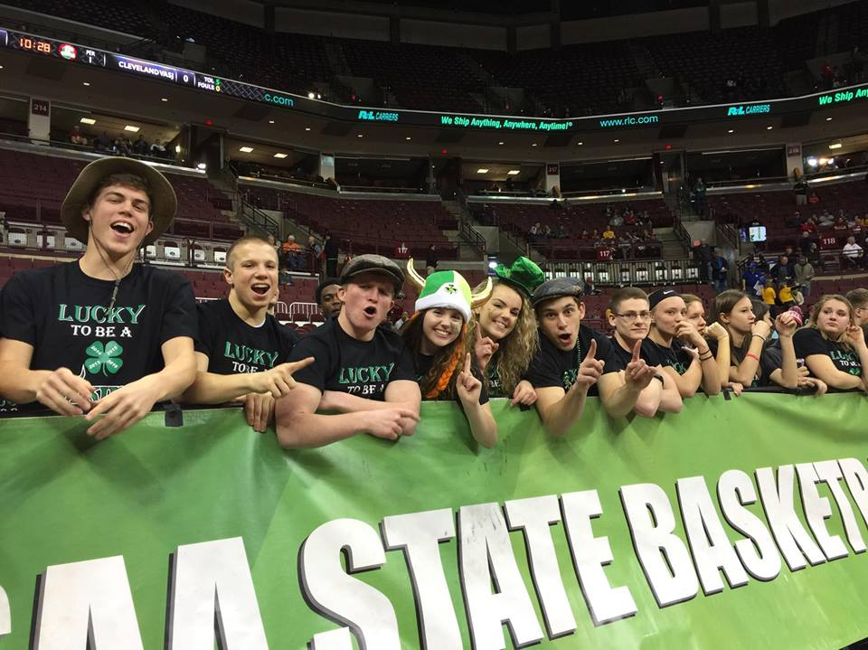 OHSAA student section
