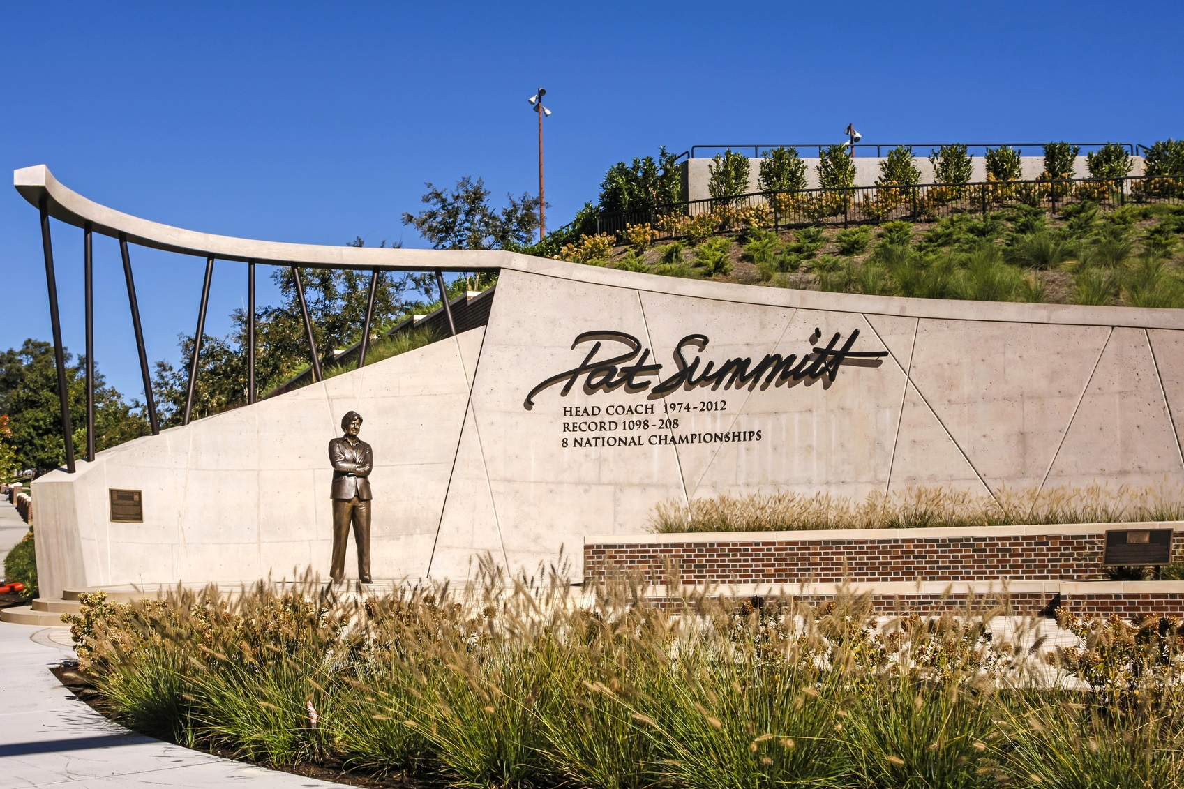 Pat Summitt Dedication Plaza