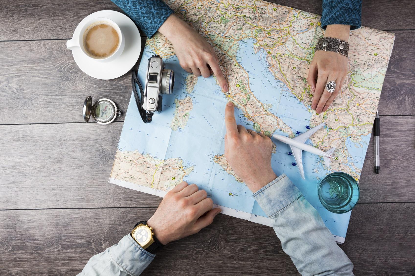 logistics map