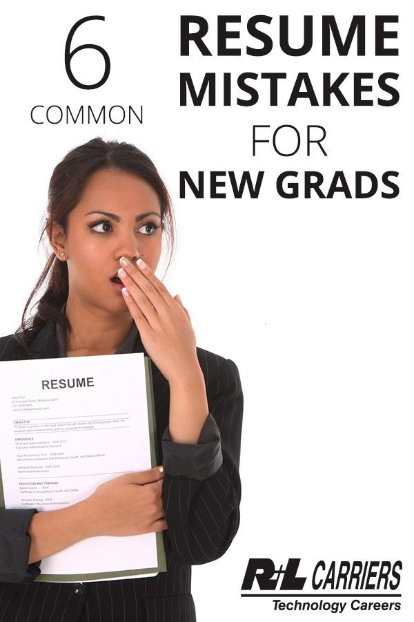 6 Common Resume Mistakes For New Grads - Hometown Showcase