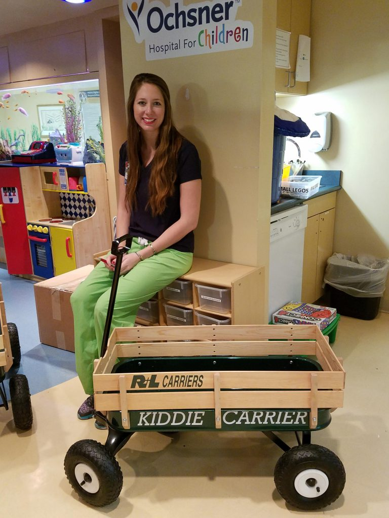Whitney Alford Oschner Hospital for Children in New Orleans