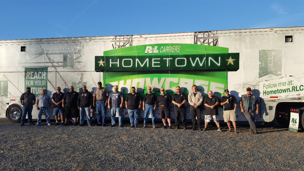 Our very own Hometown Showcase trailer joined fellow drivers from around the country in Charlotte, NC.
