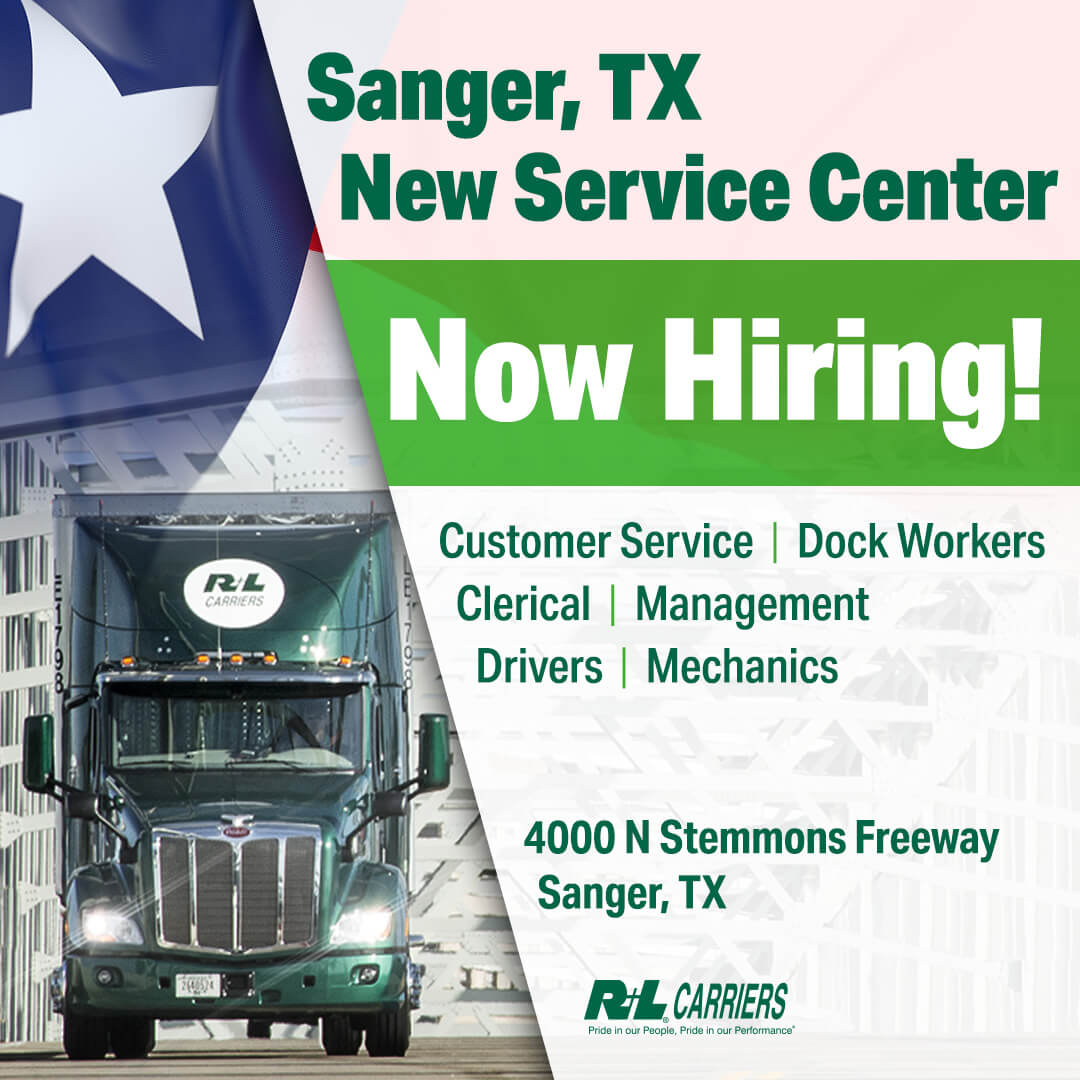 hiring sanger texas